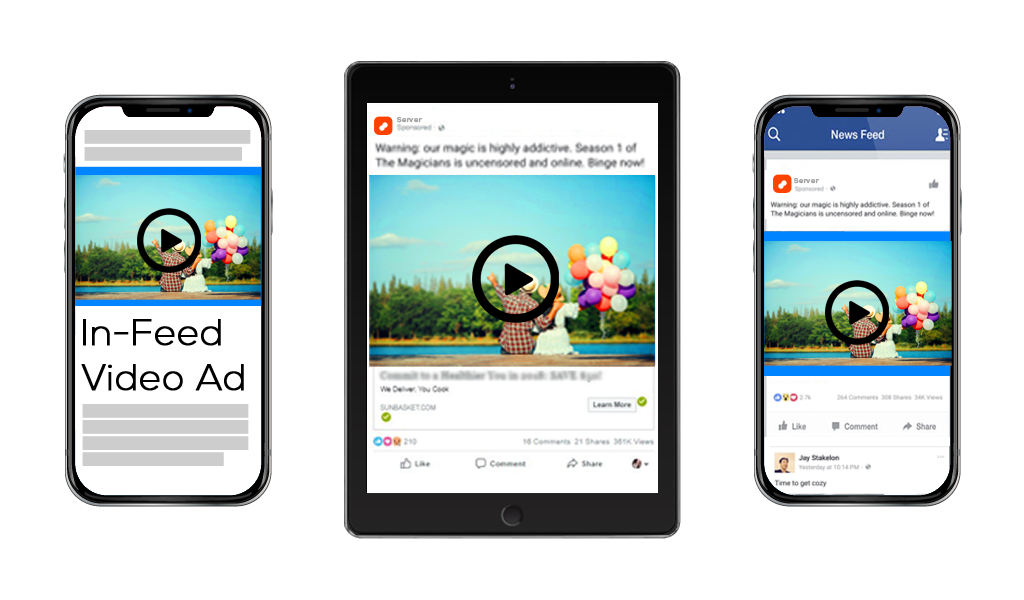 Native video ads for mobile- engaging creatives efficiently delivered